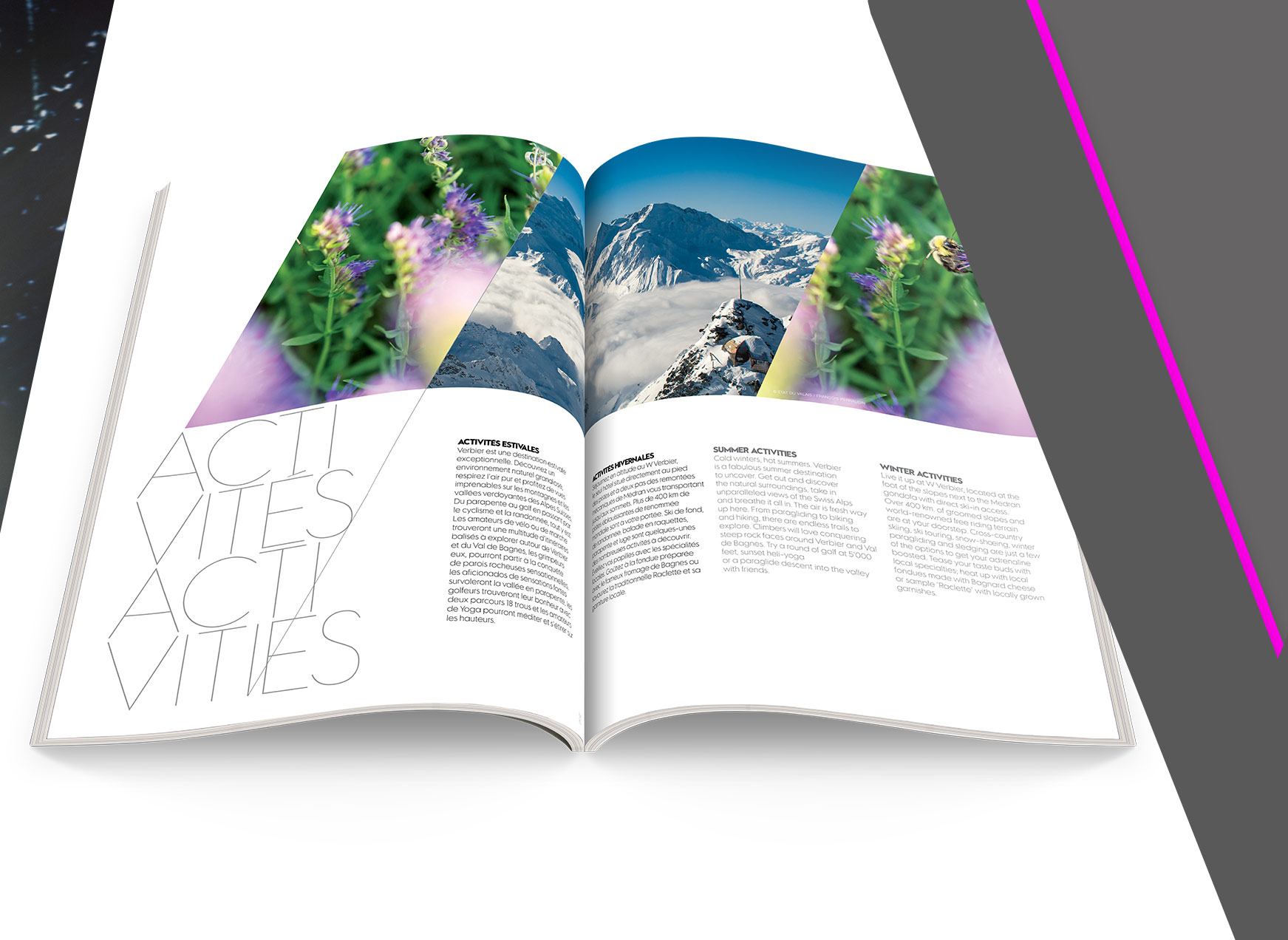 W Verbier Magazine- W Hotels - By D-facto lab
